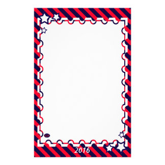U.S. Celebración patriótica de festividades Papeleria De Diseño