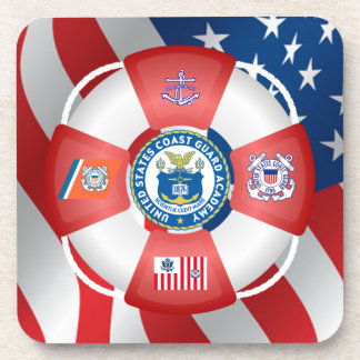 U.S Coast Guard Academy Beverage Coaster
