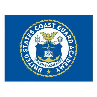 U.S. Coast Guard Academy Postcard