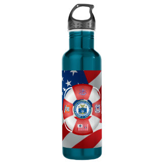 U.S Coast Guard Academy Water Bottle