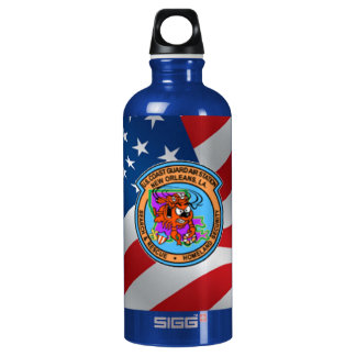 U.S. Coast Guard Air Station New Orleans Aluminum Water Bottle