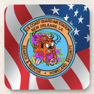 U.S. Coast Guard Air Station New Orleans Drink Coaster