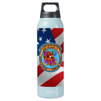 U.S. Coast Guard Air Station New Orleans Insulated Water Bottle
