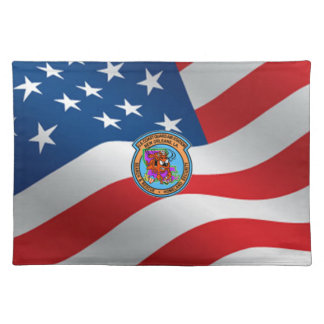 U.S. Coast Guard Air Station New Orleans Placemat