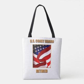 U.S. Coast Guard All-Over-Print Tote Bag, Medium
