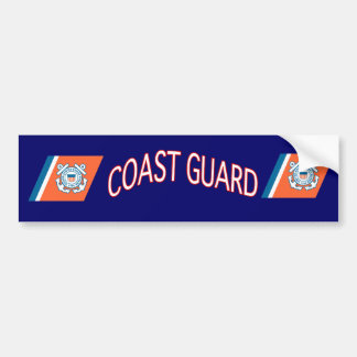U.S. Coast Guard Bumper Sticker. Bumper Sticker