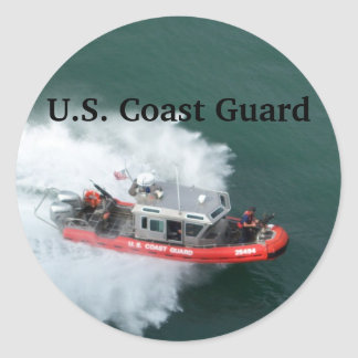 U.S. Coast Guard Classic Round Sticker
