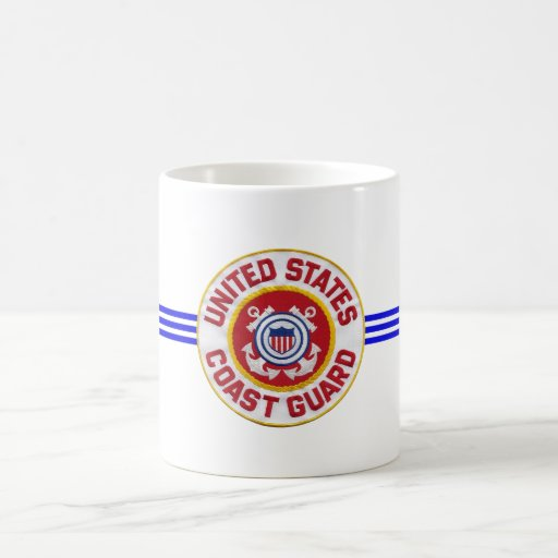 U.S. Coast Guard Classic White Coffee Mug