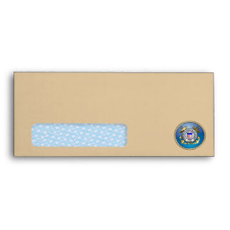U.S. Coast Guard Emblem Envelope