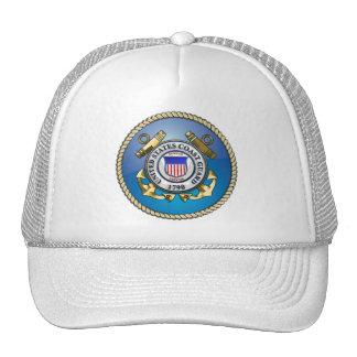 U.S. Coast Guard Emblem Trucker Hat