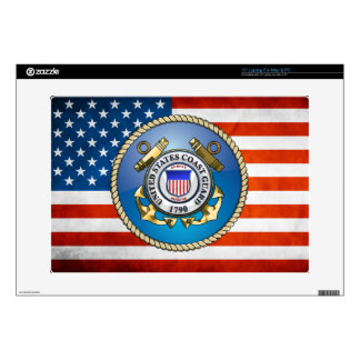 U.S. Coast Guard Emblem Laptop Decal