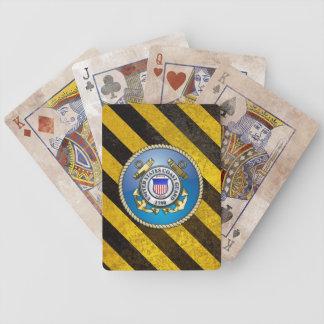 U.S. Coast Guard Emblem Bicycle Playing Cards