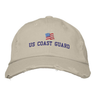 U.S. Coast Guard Embroidered Hat