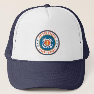 U.S. Coast Guard Ensign Sticker Trucker Hat