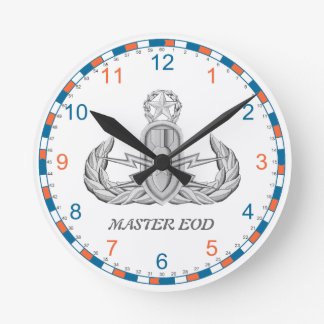 U.S. Coast Guard Master EOD Wall Clock