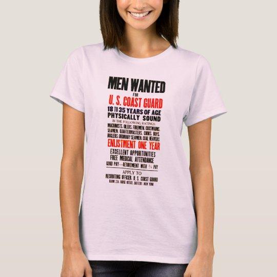 U.S. COAST GUARD MEN WANTED 1914 T-Shirt