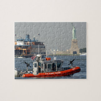 U.S. Coast Guard New York Harbor Patrol Puzzle