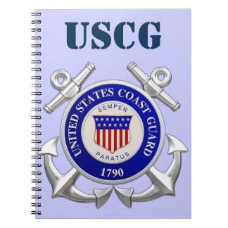 U.S.Coast Guard Spiral Notebook