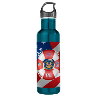 U.S Coast Guard Reserve Stainless Steel Water Bottle