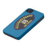 U.S. Coast Guard Retired Case-Mate iPhone 4 Cases