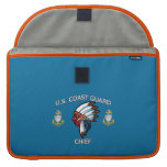 U.S. Coast Guard Senior Chief Sleeves For MacBook Pro