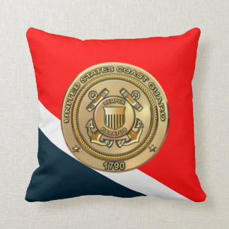 U.S Coast Guard Throw Pillow
