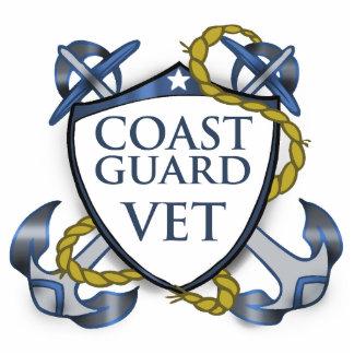 U.S.Coast Guard Veteran  Photosculpture Ormament Cut Outs