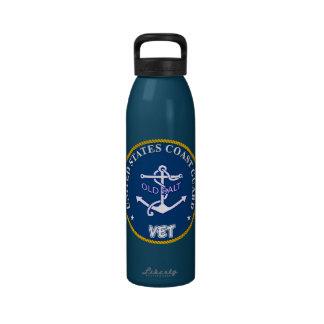 U.S. Coast Guard Veteran Reusable Water Bottles