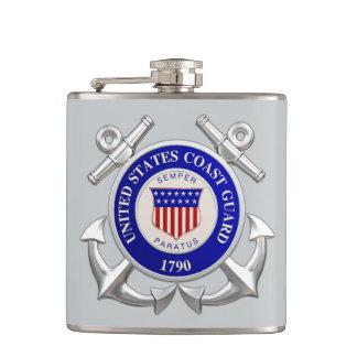 U.S.Coast Guard Vinyl Wrapped Flask