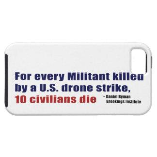 U.S. Coeficiente civil militante de la matanza de Funda Para iPhone 5 Tough