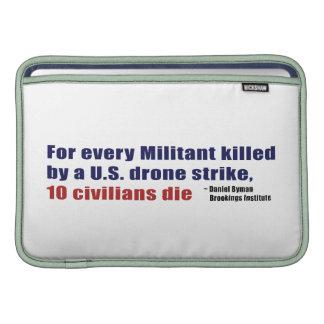 U.S. Coeficiente civil militante de la matanza de  Funda Para Macbook Air