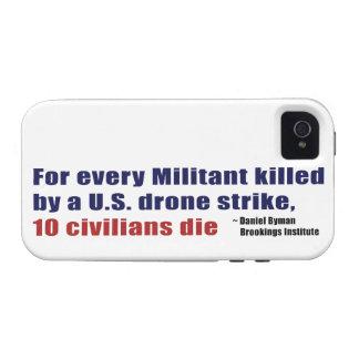 U.S. Coeficiente civil militante de la matanza de Vibe iPhone 4 Carcasas