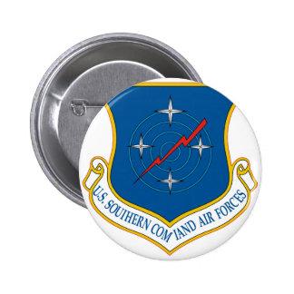 U.S. Comando meridional de las fuerzas aéreas Pin Redondo 5 Cm