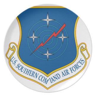 U.S. Comando meridional de las fuerzas aéreas Platos De Comidas