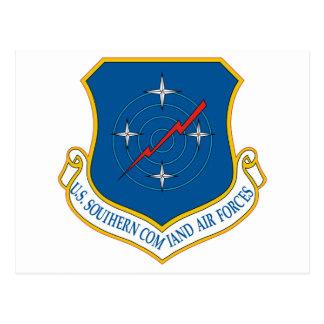 U.S. Comando meridional de las fuerzas aéreas Tarjeta Postal