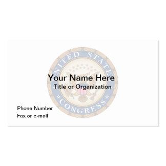 U.S. Congress Calendar Business Card