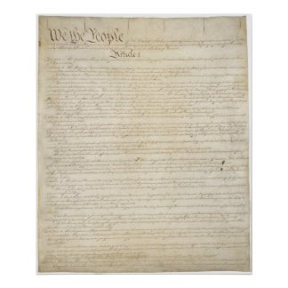 U.S. Constitution_Pg 1 of 4 Poster