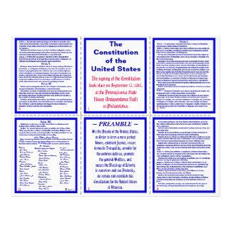 U.S. Constitution Pocket Pamphlet / Bookmark Flyer