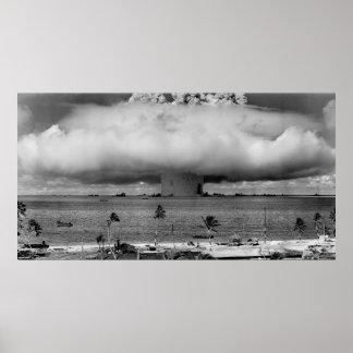 U.S. Cruces de la operación la explosión del Póster
