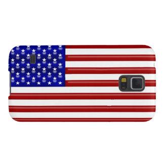 U.S. Cubierta de la bandera Carcasas Para Galaxy S5