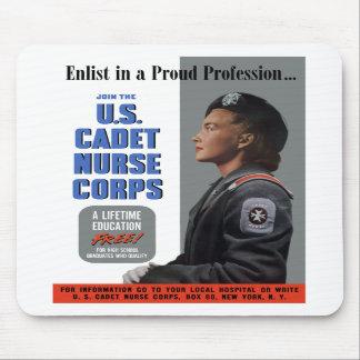 U.S. Cuerpo de enfermera del cadete Tapete De Ratones