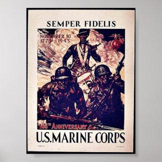U S Cuerpo del Marines Poster