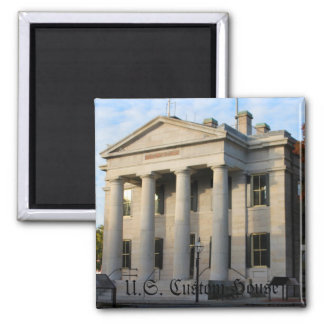 U.S. Custom House New Bedford, Mass. Magnet