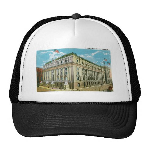 U.S. Custom House, New York City Trucker Hat