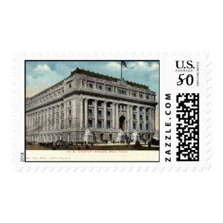 U.S. Custom House NY 1902 Vintage Postage