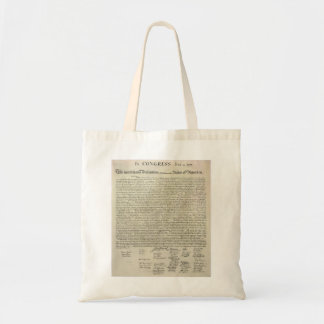 U.S. Declaration of Independence 1823 Facsimile Bags