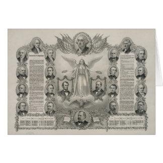 U.S. Declaration of Independence by Kurz & Allison Card