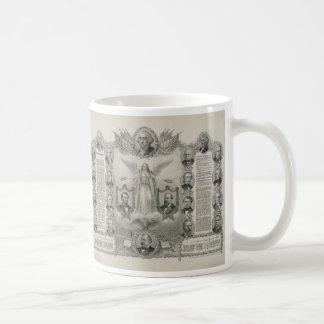 U.S. Declaration of Independence by Kurz & Allison Coffee Mug