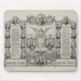U.S. Declaration of Independence by Kurz & Allison Mouse Pad