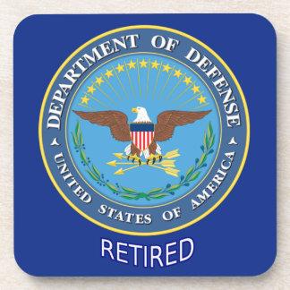 U.S. Defense Department Retired Drink Coaster